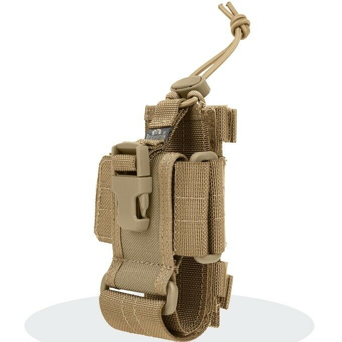 Maxpedition 102K Khaki CP-L Large Cell Phone Radio Holster