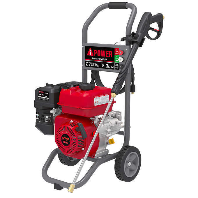 A-iPower High Pressure Washer 2700 PSI 2.3 GPM Gas Powered A