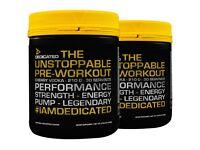 Dedicated Pre Workout Gym Supplement Bulk Deal! Fat Burner