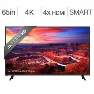 "VIZIO E65-E 65"" 4K Smart Ultra HD  Led Screen  BLOWOUT SALE FROM  $899.99 NO TAX & MUCH MORE"