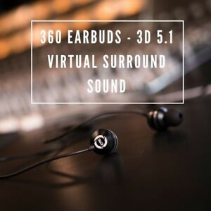 360 Ambience, Surround Sound In-Ear Headphones