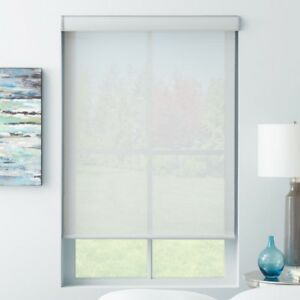 Sunscreen Roller Shades with Cassette