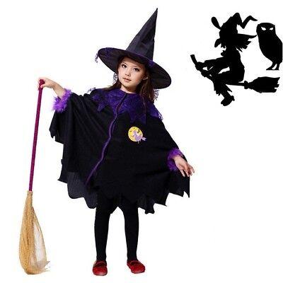 e Halloween Theater Verkleidung Fasching Karneval Gr. 110-116 (Hexe Verkleiden Halloween)