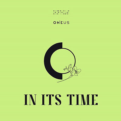ONEUS IN ITS TIME 1st Single Album CD+POSTER+Photo Book+3p Card+F.Poster+Sticker