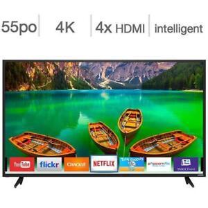 Vizio  Téléviseur intelligent 4K Ultra HD 55 po  D55-E0