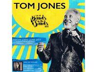 Tom Jones ticket the watering hole Perranporth