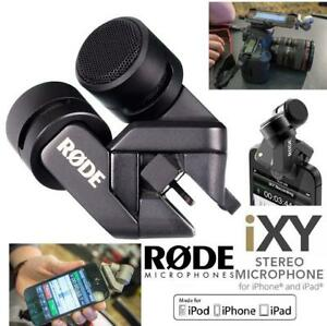 RODE I-XY CONDENSER MICROPHONE FOR APPLE LIGHTING CONNECTOR
