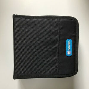 Great Condition- NAPSTER 32 Disc CD/DVD Wallet Black