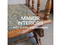 Manor Interiors Upholstery Services