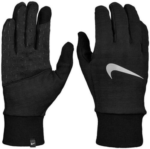 Nike Gloves Dri-Fit Dry Sphere 3.0 Reflective Running Black Authentic Mens Large