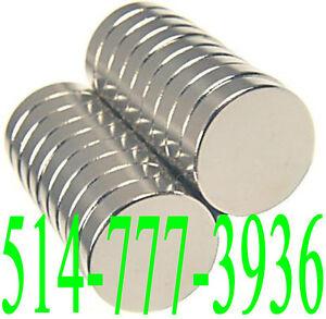 Aimants Très Puissant Néodyme Grade Industriel Neodymium Magnets