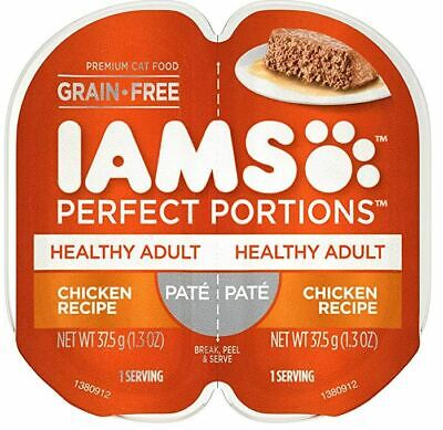 Used, IAMS Perfect PORTIONS PATE Healthy Adult Chicken Wet Cat Food(48 servings) for sale  USA