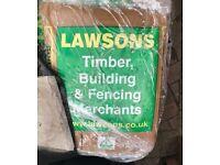 Lawson Building Sand - 10 (20kg) bags on pallet