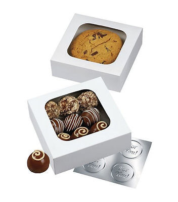 Window Treat Boxes (Small White Window Treat Boxes 3 ct from Wilton 102)