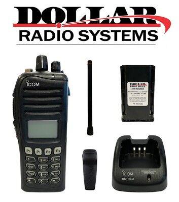 Used Icom Ic-f3161dt Vhf 136-174mhz 512ch Ltr Trunking Digital Analog Radio Kit