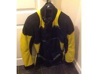 A Frank Thomas motorcycle jacket size medium