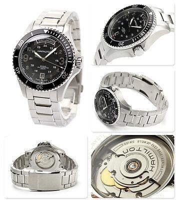 SALE NEW Hamilton Khaki King Scuba Black Dial Automatic Mens Watch H64515133