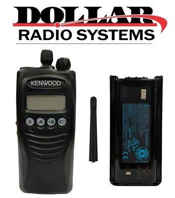 Used Kenwood Tk-2212 Vhf 136-174mhz 5w 128ch Business Warehouse Two Way Radio