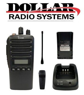 New Icom Ic-f43tr Uhf 400-470mhz 250ch Ltr Trunking Passport Radio Kit