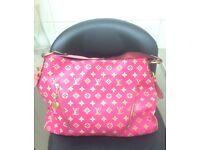 Pink Louis Vuitton handbag