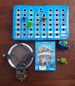 Wii U Skylander Trapteam system and wxtras London Ontario image 1