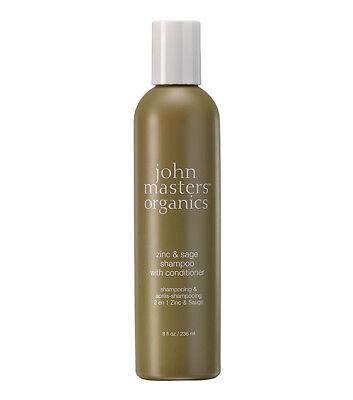 John Masters Organics Shampoo (John Masters Organics Zinc & Sage Shampoo/Conditioner 236ml)