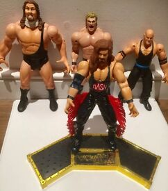 Wrestling figures wwe wwf WCW and parts accessories