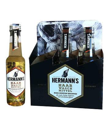 Hermanns Bier und Hopfenshampoo Sixpack 6x250ml (Six Pack Bier)