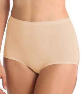 Bali-Brief-3-Full-Cut-Stretch-Cotton-2324-Size-6-10-NWT-COLORS