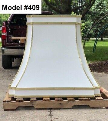 La Cornue Hood, Cooker Hood, Zinc Range Hood - Model #409 for sale  Libertyville