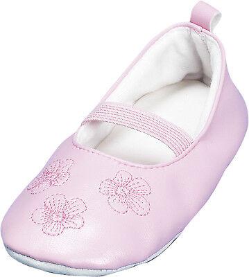 Ballett Blume (Ballettschuhe mit Blumenmuster Rosa Gr. 20 bis 33 Neu OVP Tanzschuhe Hausschuhe)