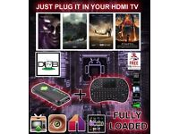 ANDROID TV BOX DONGLE much lighter and less cost D&B TV