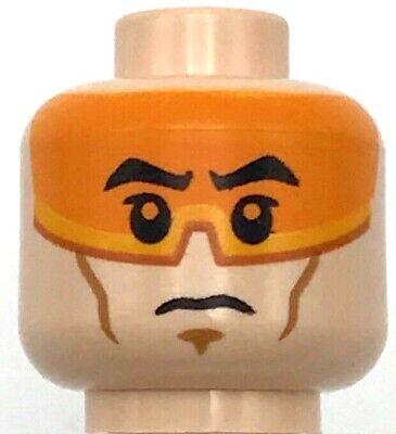 LEGO Tan Minifig Head Plain Blank Lot of 50 Parts Pieces 3626c