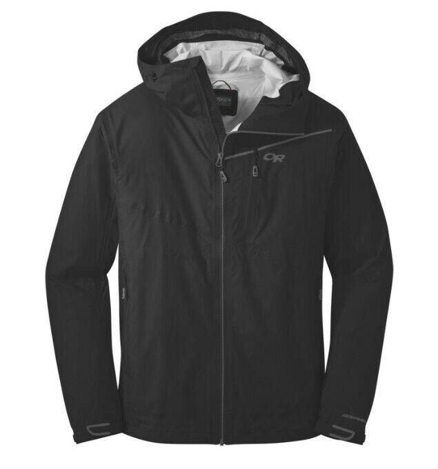 Outdoor Research Men's Interstellar Jacket Black / Charcoal