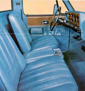 Low back bucket seats squarebody 1973-1977