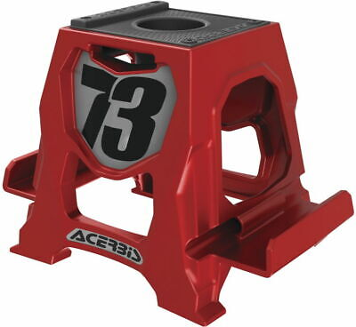 Nib Acerbis Replica Motorcycle Stand Pen Holder Phone Stand Red