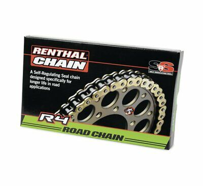 Renthal R4 SRS Road Chain - 530 x 130 - Gold - C396