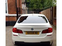White BMW 5 Series MSPORT low mileage