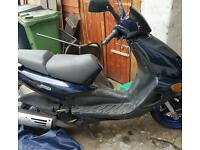 Aprilia sr 125cc 2 stroke 5k miles from new