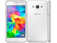 Brand New Unlocked Samsung Galaxy Grand Prime Duos(Dual Sim) 16gb Black And White Colour