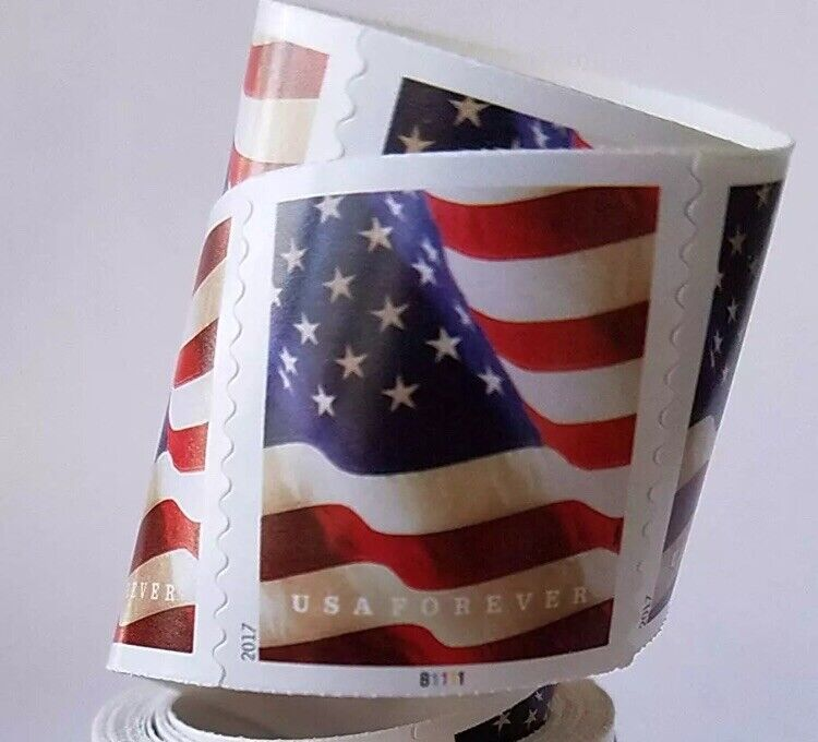 *5 FOREVER STAMPS* USPS Forever US Flag Stamp Designs Vary FREE SHIPPING