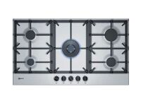 NEFF T29DS69N0 Gas Hob Stainless Steal