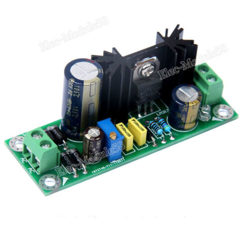 lm317 rectifier filter module ac to dc