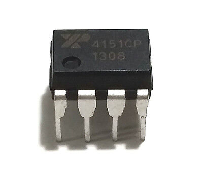 5Pcs Exar Xr4151cp  Xr4151 4151 Voltage To Frequency Convertor   New Ic