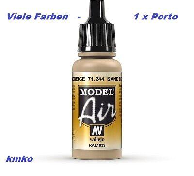 Vallejo Model Air MA 244 71.244 Camouflage Sandbeige RAL1039 27,06 €/100ml