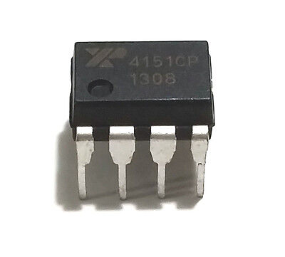1Pcs Exar Xr4151cp  Xr4151 4151 Voltage To Frequency Convertor   New Ic