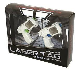 laser tag shooting game 2 players executive office home adult children fun game ebay. Black Bedroom Furniture Sets. Home Design Ideas