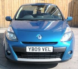 image for Cheap 09 Renault Clio 1.5 Dci £30 Tax Full Service History 3Dr Long Mot (GOLF A3 POLO FIESTA CORSA)