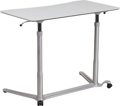 Ergonomic Desk Light (Sit-Down, Stand-Up Light Gray Computer Ergonomic)
