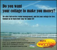 OWN A COTTAGE?